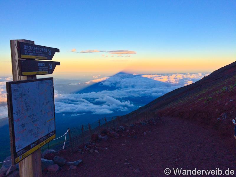 Mount Fuji Wanderung