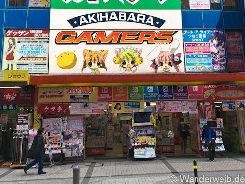 Der GAMERS STORE Ist Wahrscheinlich DIE Erste Adresse Wenn Du Das Mal Nach Akihabara Kommst Da Geschaft Nur Einen Steinwurf Vom Bahnhof Entfernt