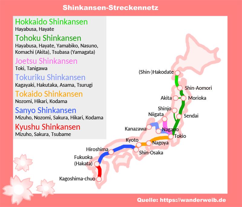Tipps Shinkansen In Japan Fahren So Geht Es Wanderweib