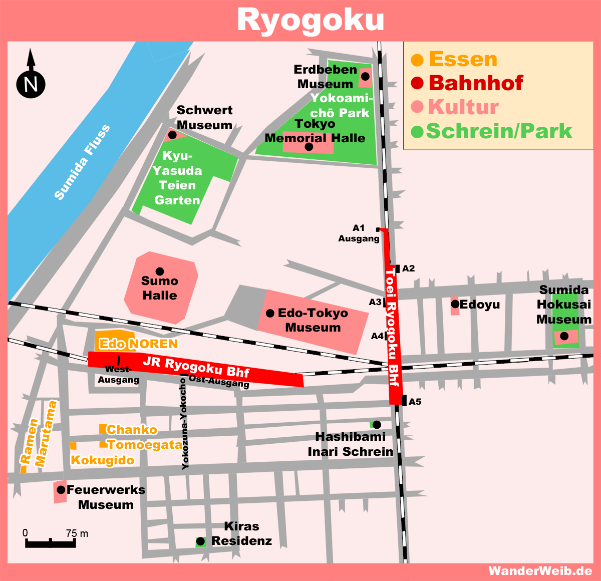 Best Sumida Ryogoku Map Pictures - Printable Map - New ...