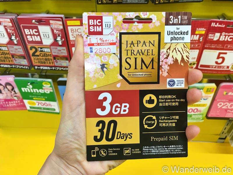 Japan Sim Karte.Tipps Sim Karte In Japan Kaufen So Geht Es Wanderweib