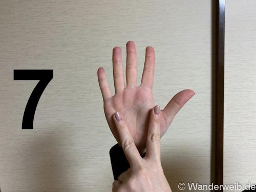 Finger und zeigefinger ausgestreckt kleiner Mudra R